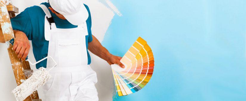 Come dipingere le pareti di casa.