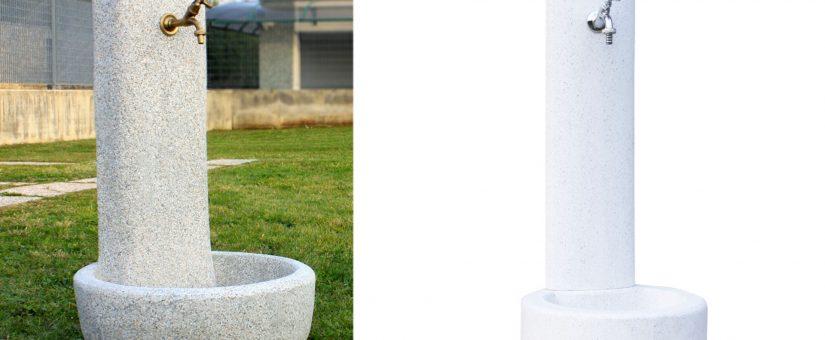 Fontane da giardino in cemento