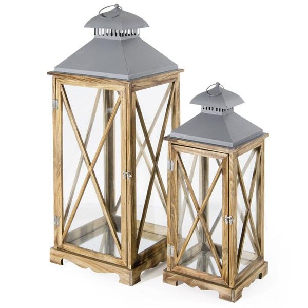 lanterne, lanterna marrone legno, lanterna classica,lanterna marrone legno Arles classica- Rota Commerciale Bergamo- Arredo giardino Bergamo Giardinaggio Bergamo