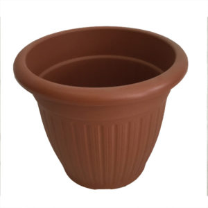 Vaso in pvc tondo- Giardinaggio- Rota Commerciale