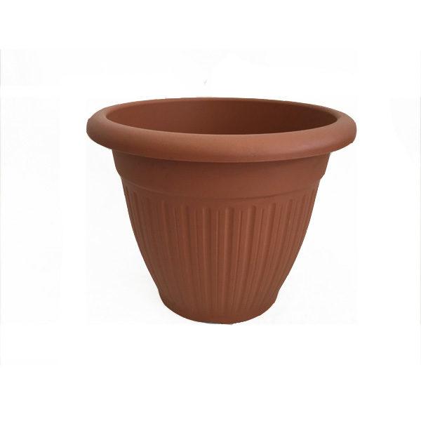 Vaso tondo in pvc- Giardinaggio- Rota Commerciale