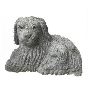Statua granito volpe- Arredo Giardino- Rota Commerciale