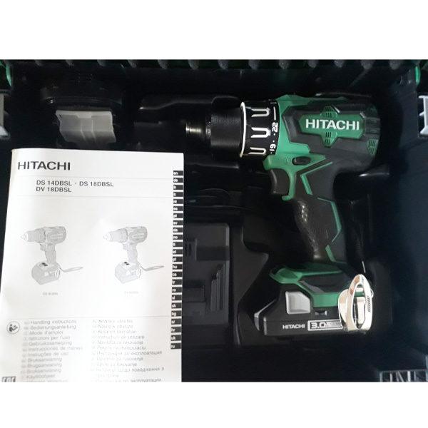 Trapano avvitatore DV18DBSL Hitachi- Rota Commerciale