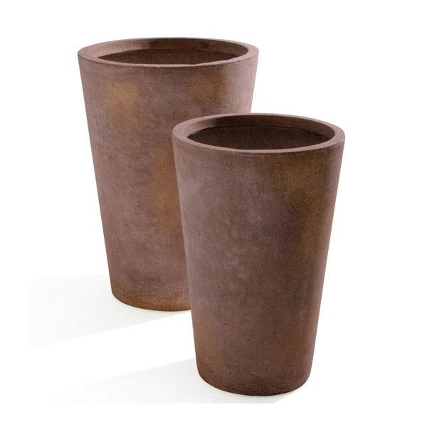 vaso maxime corten- Arredo Giardino-Rota Commerciale