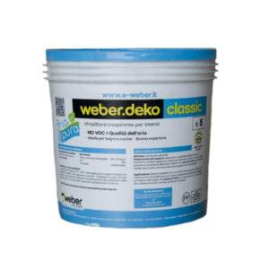 idropittura - pittura per interni -Weber Deco Classic lt 14- Colorificio- Rota Commerciale