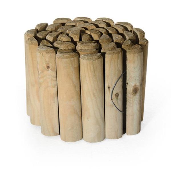 Bordura in legno- Rota Commerciale- Giardinaggio