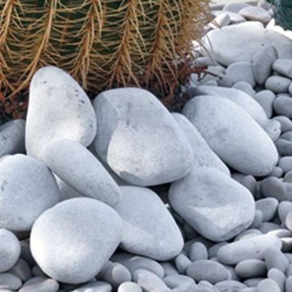 Ciottolo bianco Carrara-Giardinaggio- Pietre giardino- Rota Commerciale