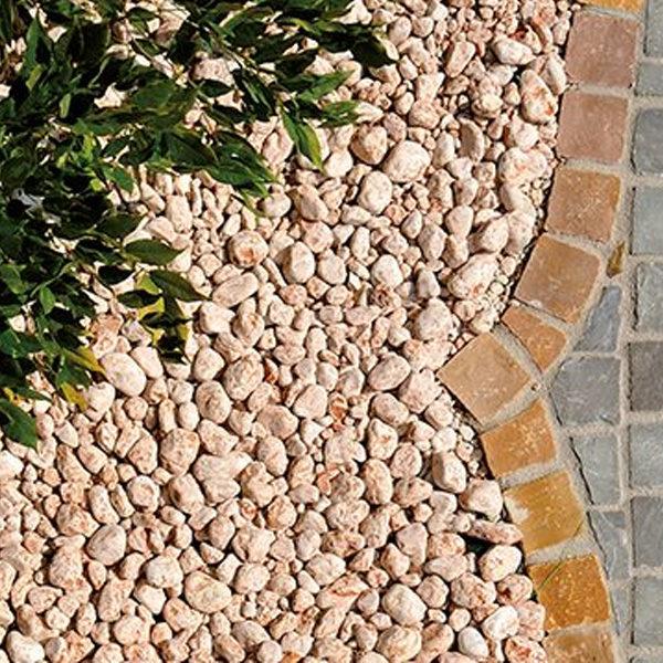 Ciottolo rosso Verona - Giardinaggio- Pietre da giardino- Rota Commerciale