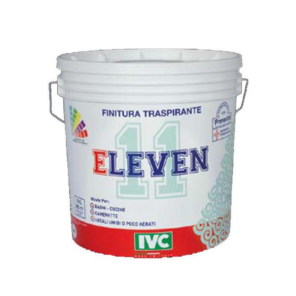 Idropittura traspirante antimuffa- Eleven bianco lt 14- Antimuffa- Colorificio- Rota Commerciale Bergamo
