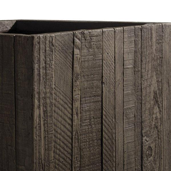 fioriera finto legno Wooden marrone