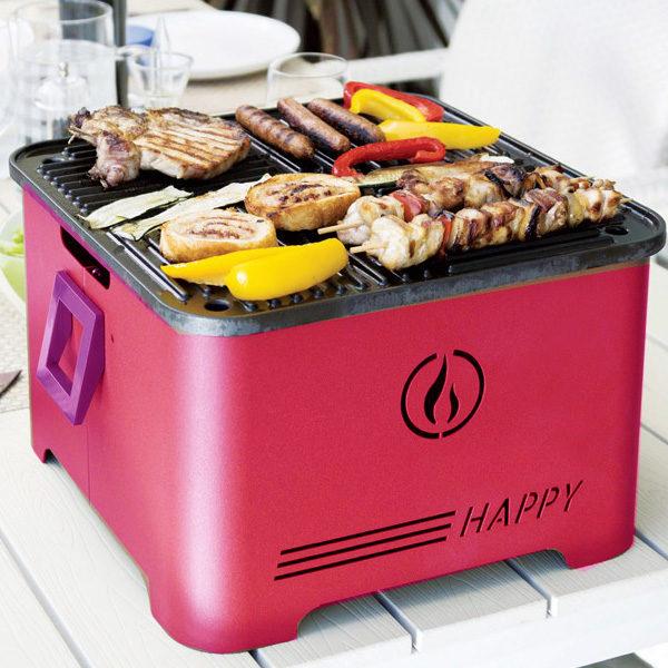 Barbecue pellet Happy- Rota Commerciale