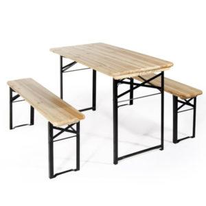 tavolo set birreria, tavolo legno, Rota Commerciale Bergamo, arredo giardino Bergamo, Giardinaggio Bergamo
