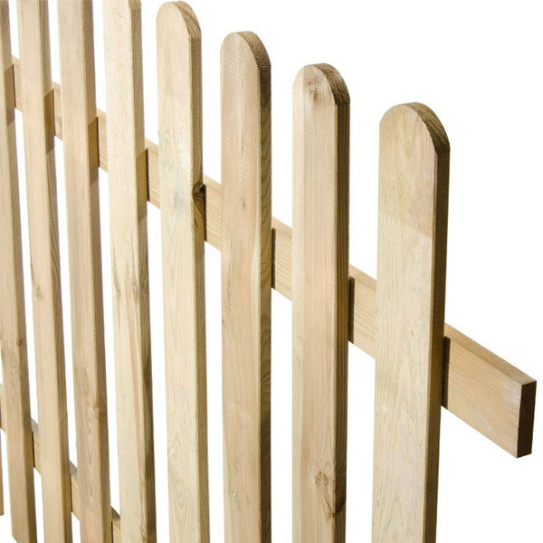 staccionata in legno modello Maremma- Rota Commerciale - Giardinaggio