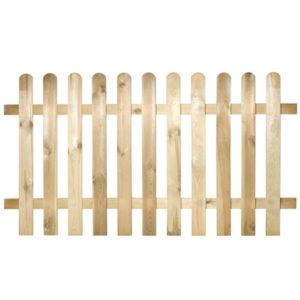 staccionata in legno modello Maremma- Rota Commerciale - Giardinaggio, recinzione giardino, staccionate in legno