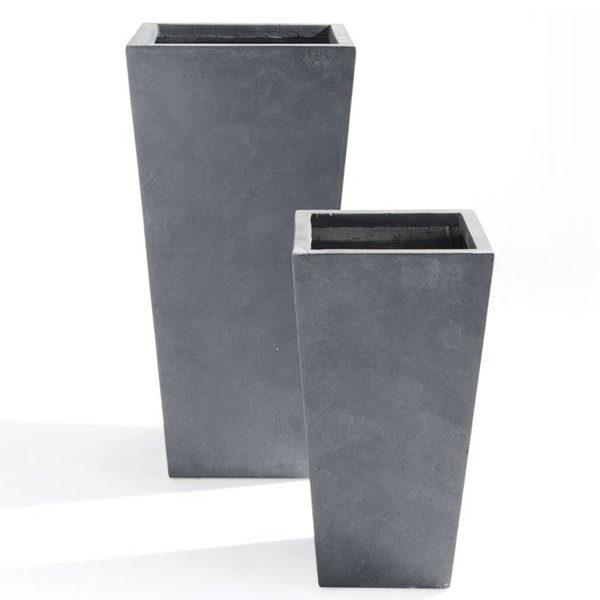 vaso grigio Raphael- Set vasi