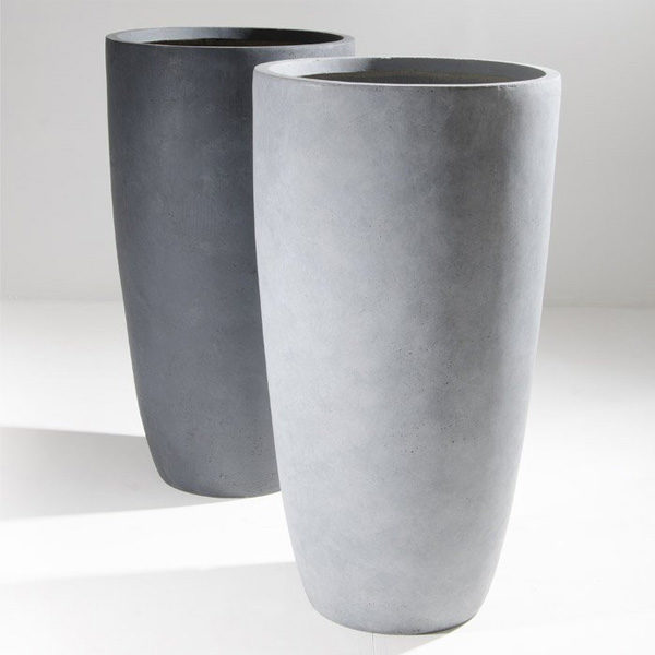 vaso grande Stone grigio chiaro- Rota Commerciale
