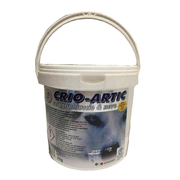 sale da disgelo anticorrosivo Crio-Artic Rota Commerciale materiali edili Bergamo