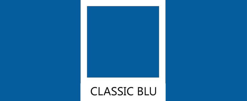 Come dipingere le pareti di casa. Il classic blu è il colore dell'anno.