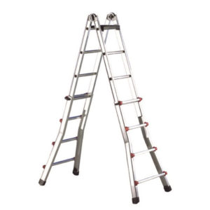 scala telescopica alluminio, scala professionale allungabile professionale, Ferramenta - Colorificio- Rota Commerciale Bergamo