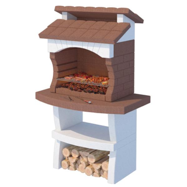 barbecue in muratura, barbecue a legna, barbecue a carbonella, barbecue prefabbricato, giardinaggio Bergamo, materiali edili Bergamo, Rota Commerciale