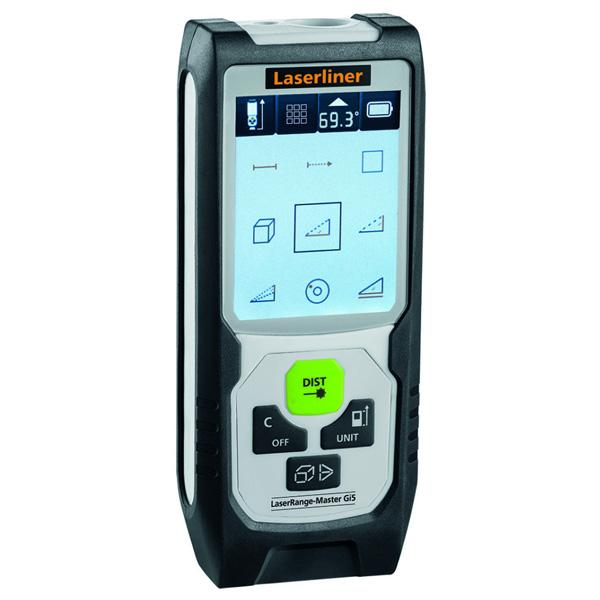 misuratore di distanza laser, laser line range master GI5, Ferramenta Bergamo - Rota Commerciale