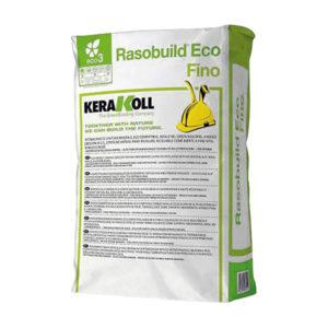 Rasobuild Eco Fino Kerakoll, intonachino Kerakoll, Intonachino fino, materiali edili Bergamo- Rota Commerciale