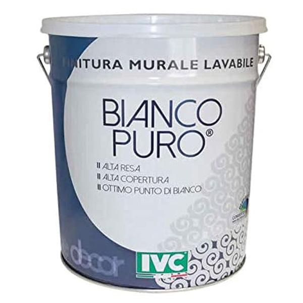idropittura lavabile Bianco puro, pittura per interni, pittura per pareti, pittura bianca lavabile, colorificio Bergamo, Rota Commerciale Bergamo