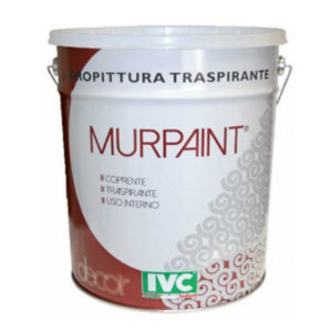 Idropittura traspirante Murpaint IVC, pittura per interni, pittura traspirante, pittura per pareti, Colorificio Bergamo Rota Commerciale