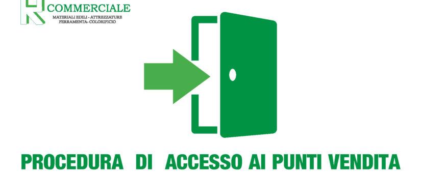 Fase 2 Covid-19: Procedura di accesso esterni Rota Commerciale materiali edili Bergamo