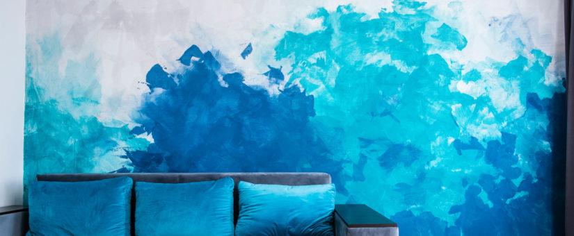 Pitture decorative. Come tinteggiare le pareti di casa con decorazioni originali