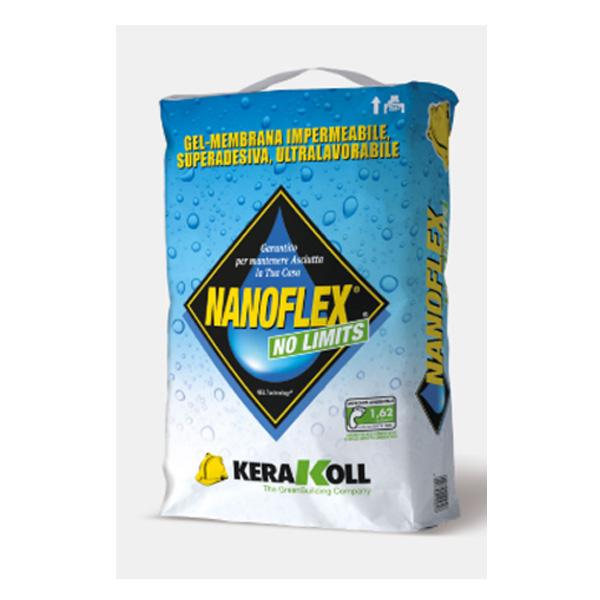 Nanoflex No Limits di Kerakoll, gel membrana, impermeabilizzante, membrana impermeabile, materiali edili Bergamo, Rota Commerciale Bergamo