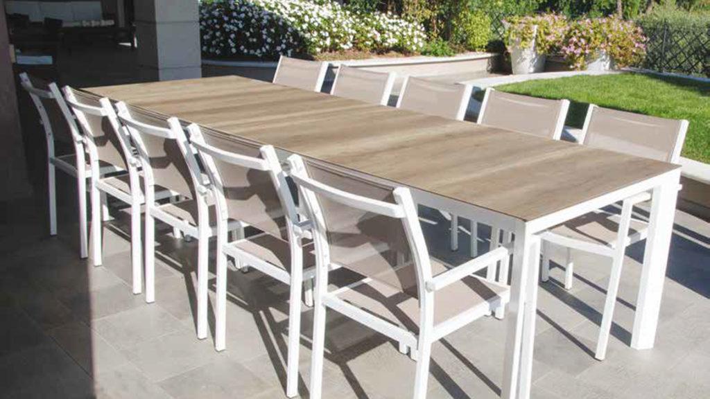 tavoli da giardino allungabili, tavolo da giardino, tavoli da esterno, tavolo da esterno, Arredo Giardino Bergamo, Rota Commerciale Bergamo, Giardinaggio Bergamo