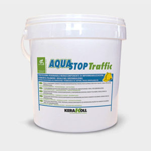 Aquastop Traffic Kerakoll materiali edili Bergamo, Rota Commerciale Bergamo