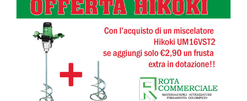 Offerte Hikoki- Miscelatore UM16VST2