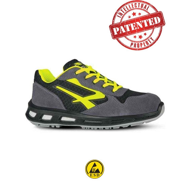 scarpa u power yellow , scarpe antinfortunistiche U Power, Ferramenta Bergamo , antinfortunistica Bergamo, Rota Commerciale Bergamo
