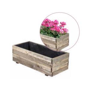 fioriera in legno, fioriere di legno ,arredo giardino Bergamo, Giardinaggio Bergamo, Rota commerciale Bergamo
