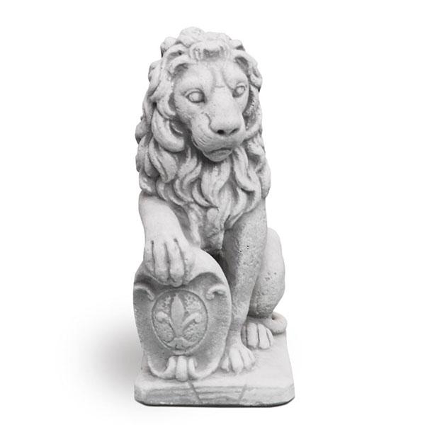 statua leone lucca destro da giardino, statue leoni da giardino, statua giardino, arredo giardino Bergamo, giardinaggio Bergamo, Rota Commerciale Bergamo