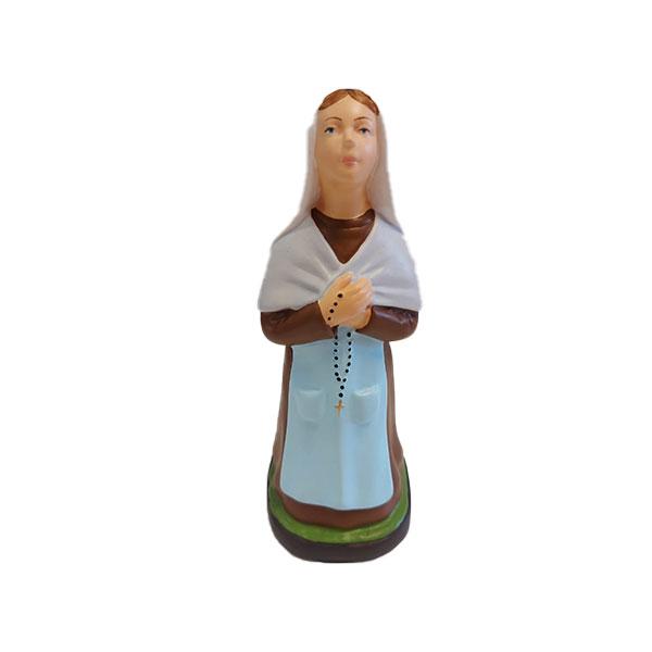 statua da giardino madonna di Lourdes e Bernadette, madonnina da giardino, statuetta madonna di lourdes, arredo giardino Bergamo, giardinaggio Bergamo, Rota Commerciale Bergamo