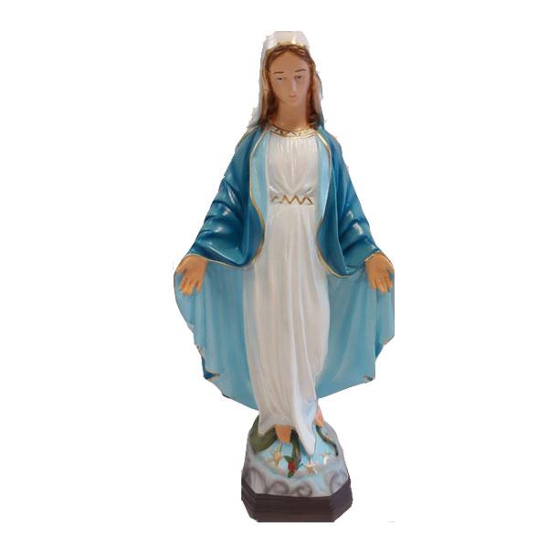 statua madonna , madonnina immacolata statua da giardino, statie giardino, arredo giardino Bergamo, Rota Commerciale Bergamo, Giardinaggio Bergam