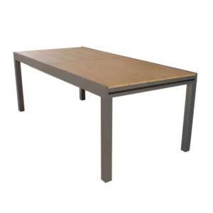 tavolo cayman bianco e taupe, tavolo da esterno allungabile , tavolo da giardino allungabile, tavoli da esterno, tavoli da giardino, arredo giardino Bergamo, giardinaggio Bergamo, Rota Commerciale