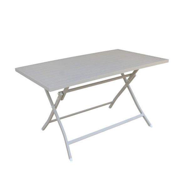 tavolo alabama tortora pieghevole 130x77 , tavolo da esterno pieghevole , tavolo da giardino, tavoli da esterno, tavoli da giardino, arredo giardino Bergamo, giardinaggio Bergamo, Rota Commerciale