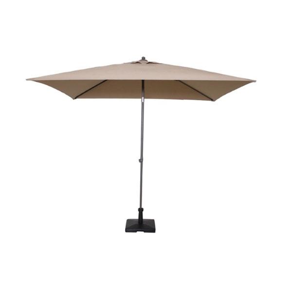 ombrellone nice taupe o tortora, ombrellone da giardino, ombrello da esterno, ombrellone in metallo, ombrelloni giardino, ombrelloni metallo, ombrelloni