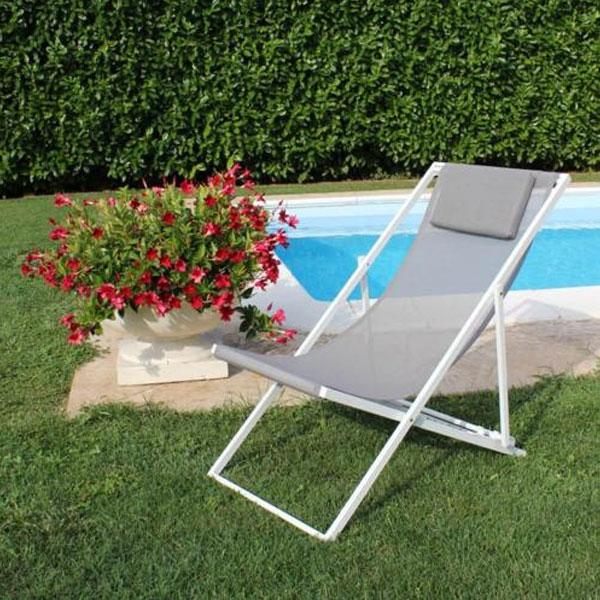 sdraio da giardino, sdraio da balcone, sdraio pieghevole, sdraio da piscina, arredo giardino Bergamo, giardinaggio Bergamo, Rota Commerciale Bergamo, sdraio Avana